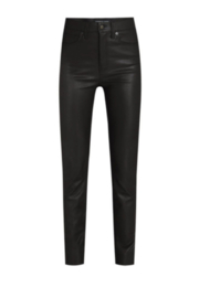 Veronica Beard Vegan Leather Debbie High Rise Jean - Product Mini Image
