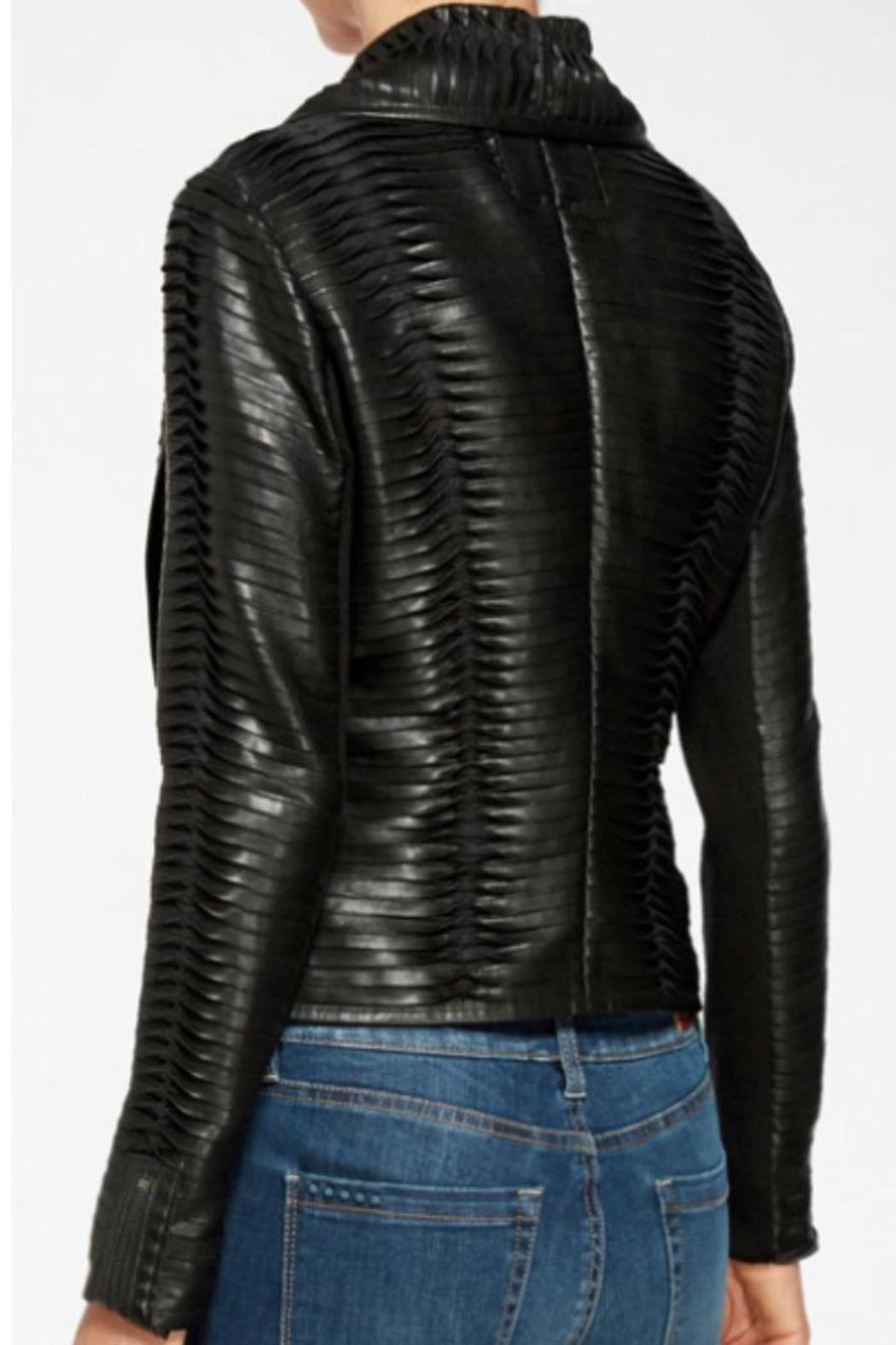how to clean vegan leather jacket