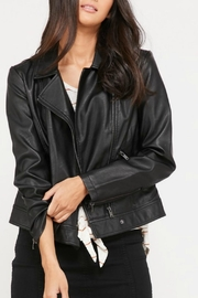 Pretty Little Things Vegan Leather Jacket - Product Mini Image