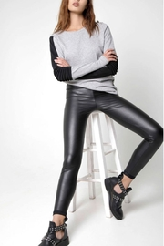 Tantrum Ink Vegan Leather Legging - Front cropped