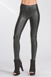 Cherish Vegan Leather Leggings - Product Mini Image