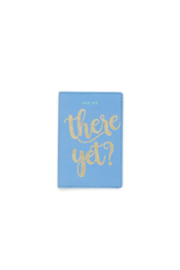 2 Chic Vegan Leather Passport Holder - Front cropped