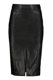 Bishop + Young Vegan-Leather Pencil Skirt - Product Mini Image