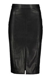 Bishop + Young Vegan Leather Pencil Skirt - Product Mini Image