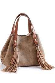 Charlie Paige Vegan Leather Satchel - Front cropped