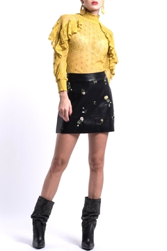 Shoptiques Product: Vegan Leather Skirt