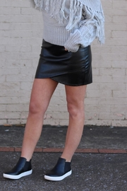 Bishop + Young Vegan Leather Skirt - Product Mini Image