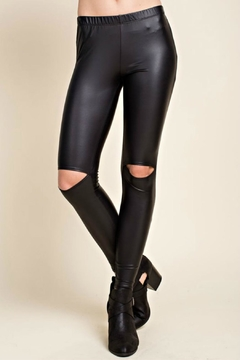R+D Hipster Emporium  Vegan Leather Split-Knee - Product List Image