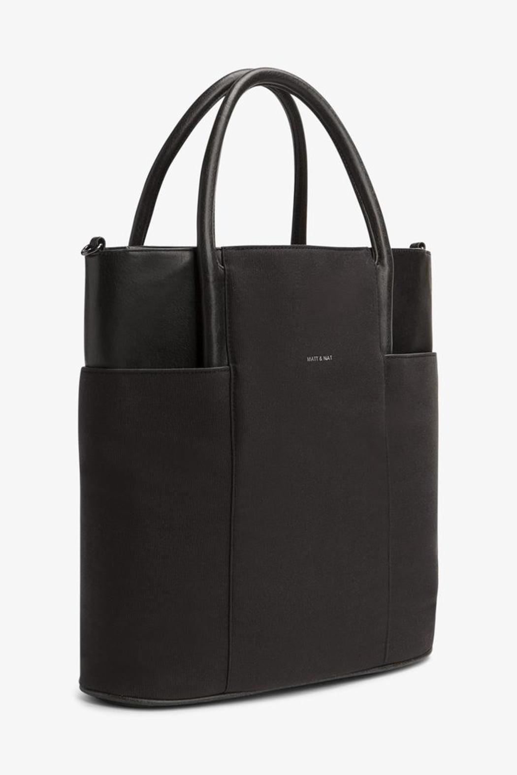 Vegan Leather Tote - Front Full Image