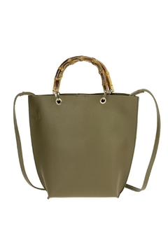 joseph d'arezzo Vegan Leather Tote - Product List Image