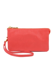 Riah Fashion Vegan Leather Wristlet - Product Mini Image