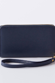 Boon Supply Vegan Leather Wristlet w/Wrist Strap - Front cropped