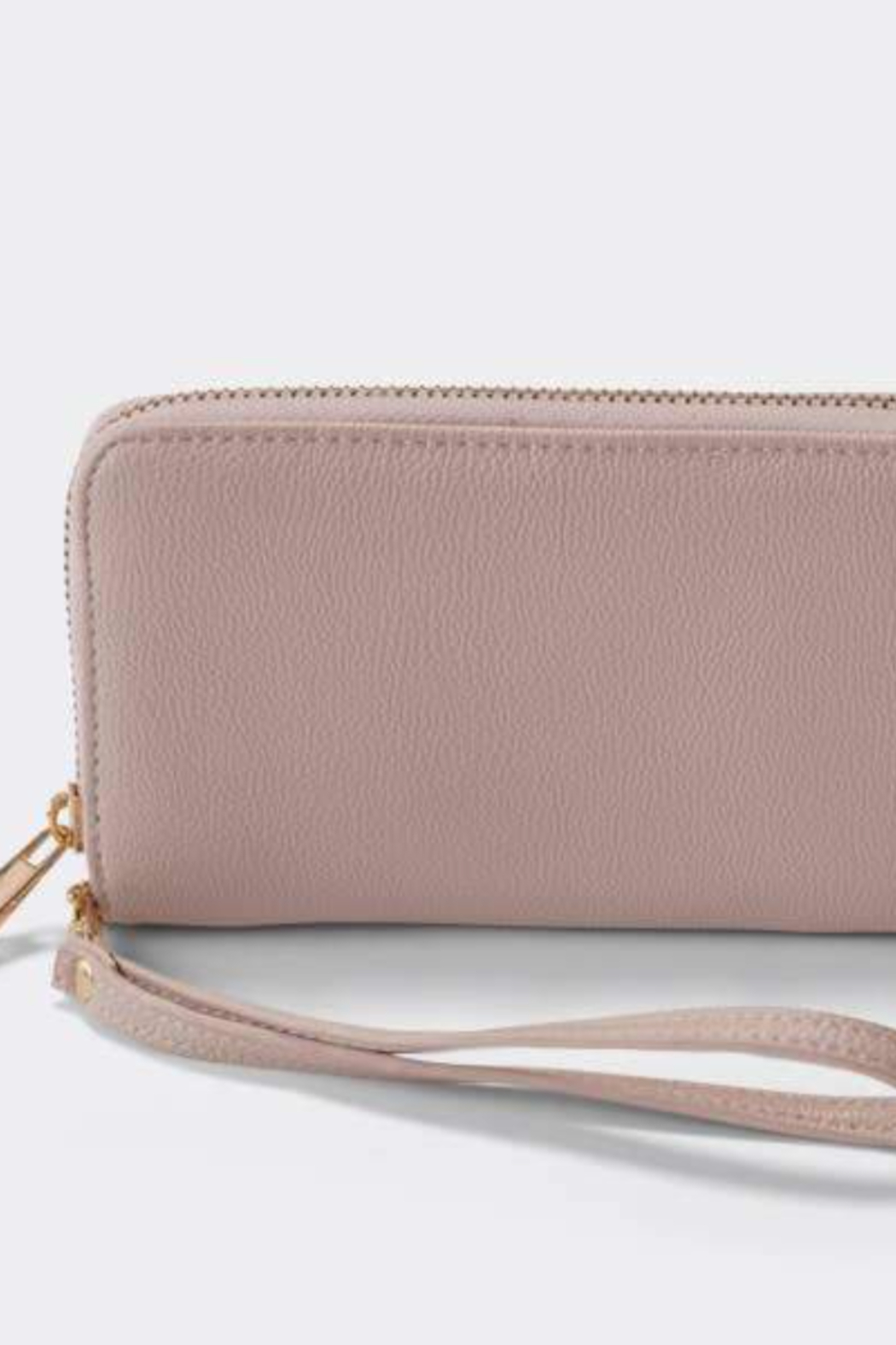 Boon Supply Vegan Leather Wristlet w/Wrist Strap - Side Cropped Image