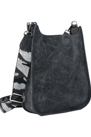 Ahdorned Vegan Messengers With Fancy Straps - Front cropped