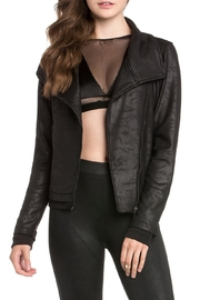 Dance & Marvel Vegan Moto Jacket - Product Mini Image