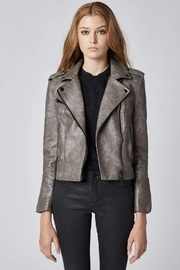 BlankNYC Vegan Moto Jacket - Front full body