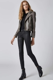 Blank NYC Vegan Moto Jacket - Product Mini Image