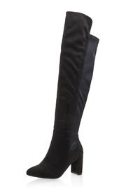 Wild Diva Vegan Suede Boot - Product Mini Image