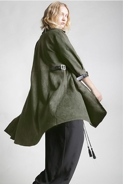 beulah Vegan Suede Coat - Product List Image