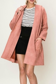 HYFVE Vegan-Suede Collared Jacket - Product Mini Image