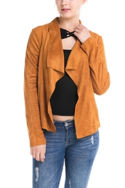 Mustard Seed Vegan Suede Jacket - Product Mini Image