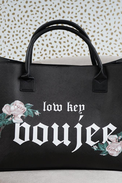 LA Trading Co. Vegan Tote  Boujee - Product List Image