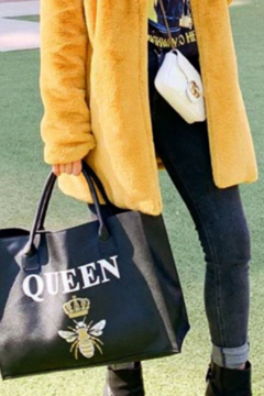 LA Trading Co. Vegan Tote - Queen Tote - Alternate List Image