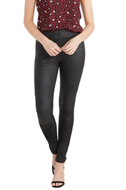 Mud Pie Veganleather Moto Legging - Product Mini Image