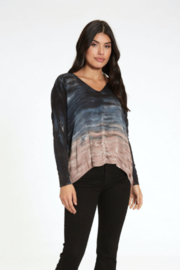 RIVER AND SKY Velocity Ombre Long Sleeve Tee - Product Mini Image