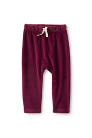 Tea Collection  Velour Baby Pants - Cosmic Berry - Product Mini Image