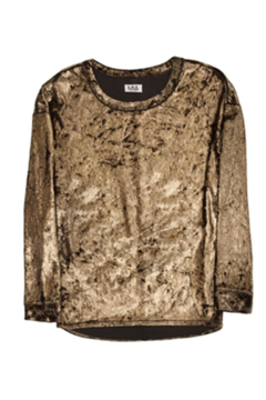 MIA New York Velour Dolman Top - Alternate List Image
