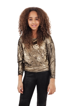 MIA New York Velour Dolman Top - Product List Image