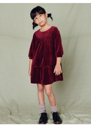 Tea Collection Velour Dress - Product Mini Image