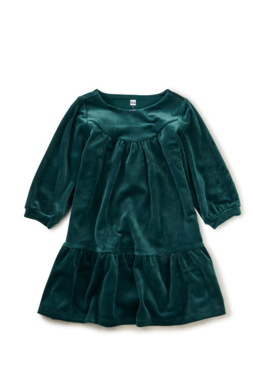 Tea Collection Velour Dress - Main Image