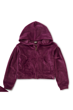 Tea Collection Velour Hoodie - Product List Image