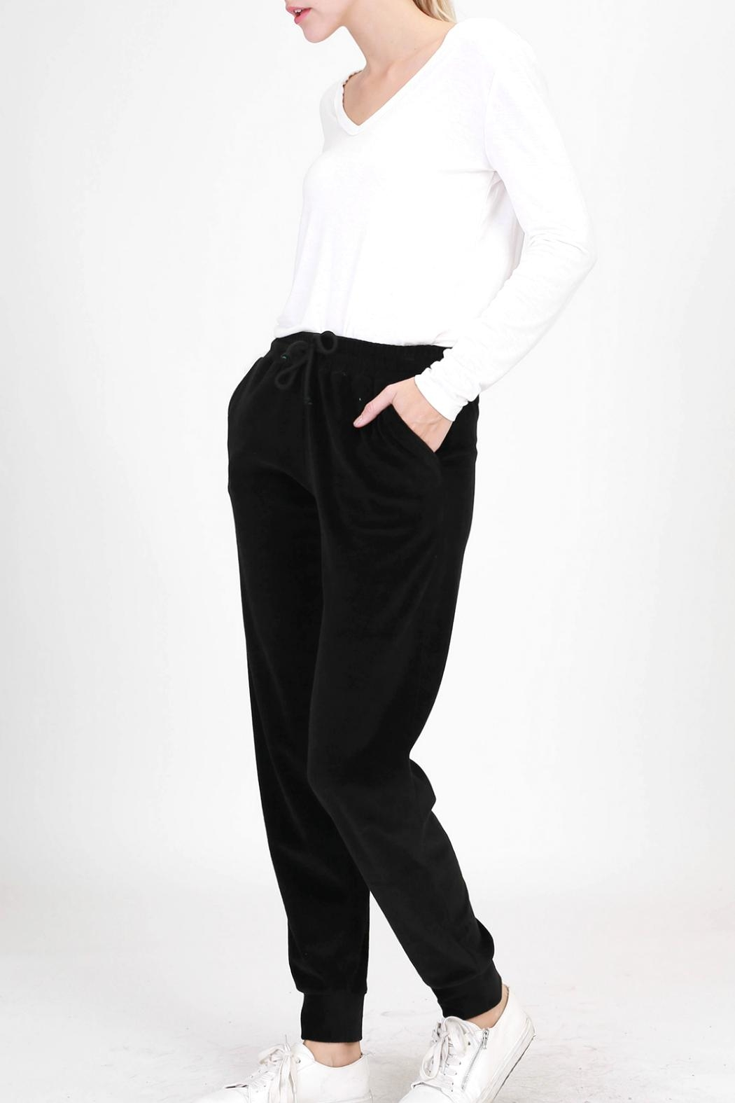 HYFVE Velour Joggers - Front Cropped Image