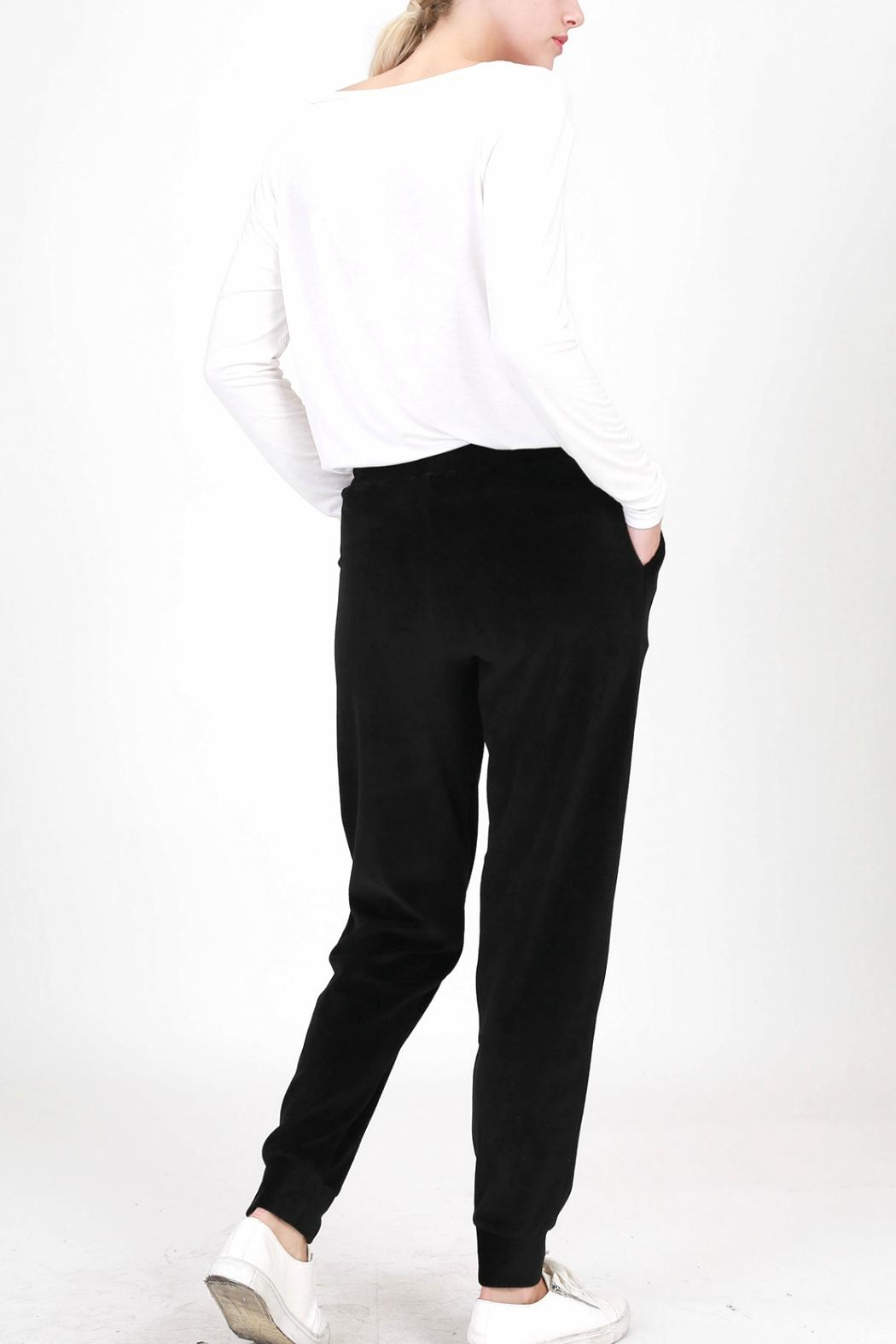 HYFVE Velour Joggers - Side Cropped Image