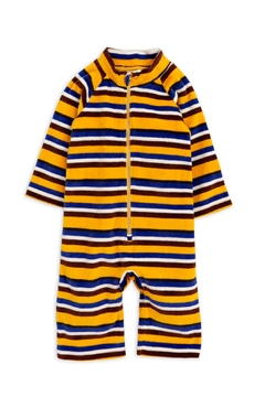 Shoptiques Product: Velour Stripe Onesie