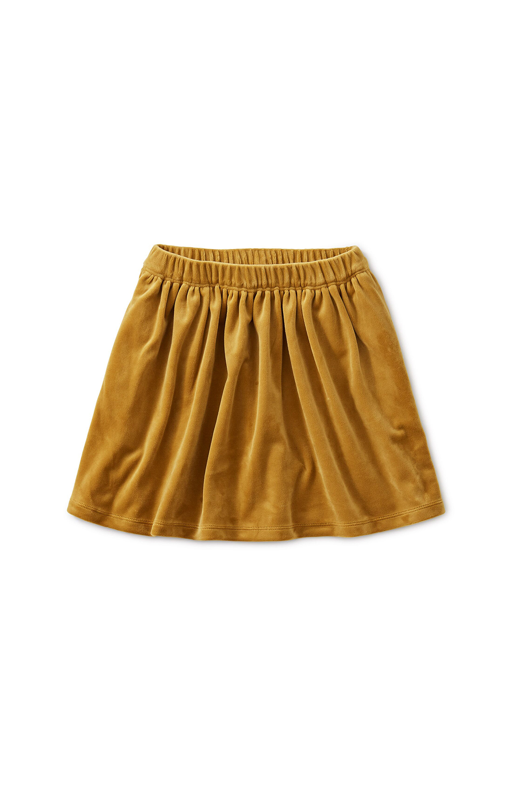 Tea Collection Velour Twirl Skirt - Front Cropped Image