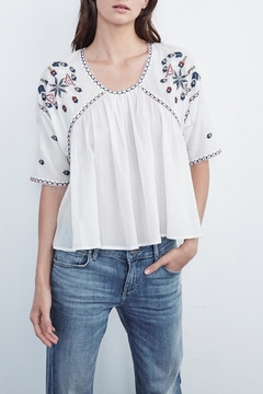 Shoptiques Product: Adele Embroidered Blouse