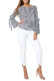 Velvet Adia Top - Front full body
