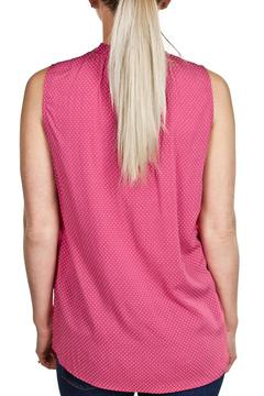Velvet Pink Sleeveless Top - Alternate List Image