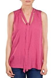 Velvet Pink Sleeveless Top - Product Mini Image