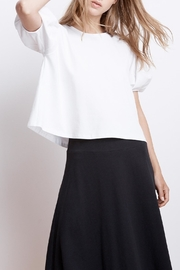 Velvet Ayla Cotton Top - Front cropped