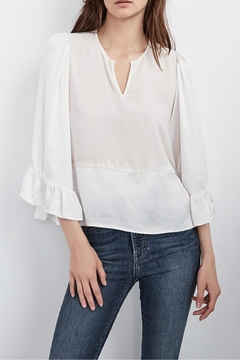 Velvet Bell Sleeve Top - Product List Image