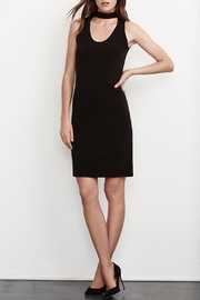 Velvet Bethel Cut Out Dress - Product Mini Image