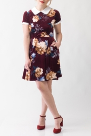 Smak Parlour Velvet Betty Dress - Product Mini Image
