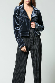 Fate Velvet Biker Jacket - Product Mini Image