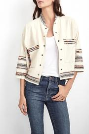 Velvet Billee Embroidered Jacket - Product Mini Image