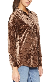 Tribal Velvet Blouse - Product Mini Image
